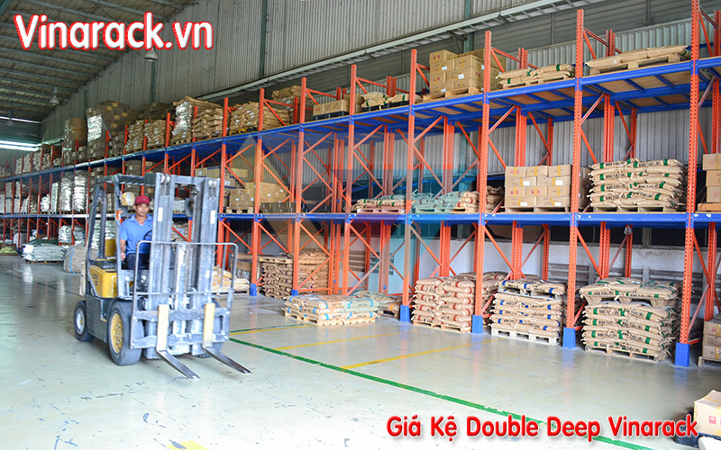 giá kệ pallet double deep cong nghiep
